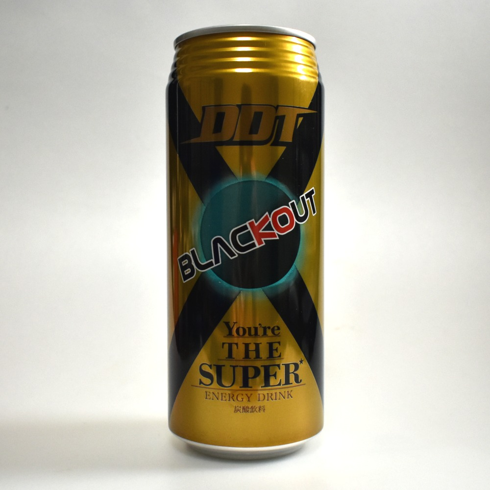 Japanese ENERGY DRINK,BLACKOUT THE SUPER
