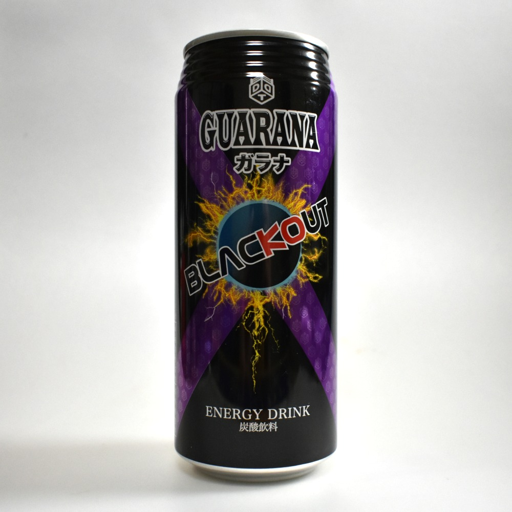 Japanese ENERGY DRINK,BLACKOUT GUARANA