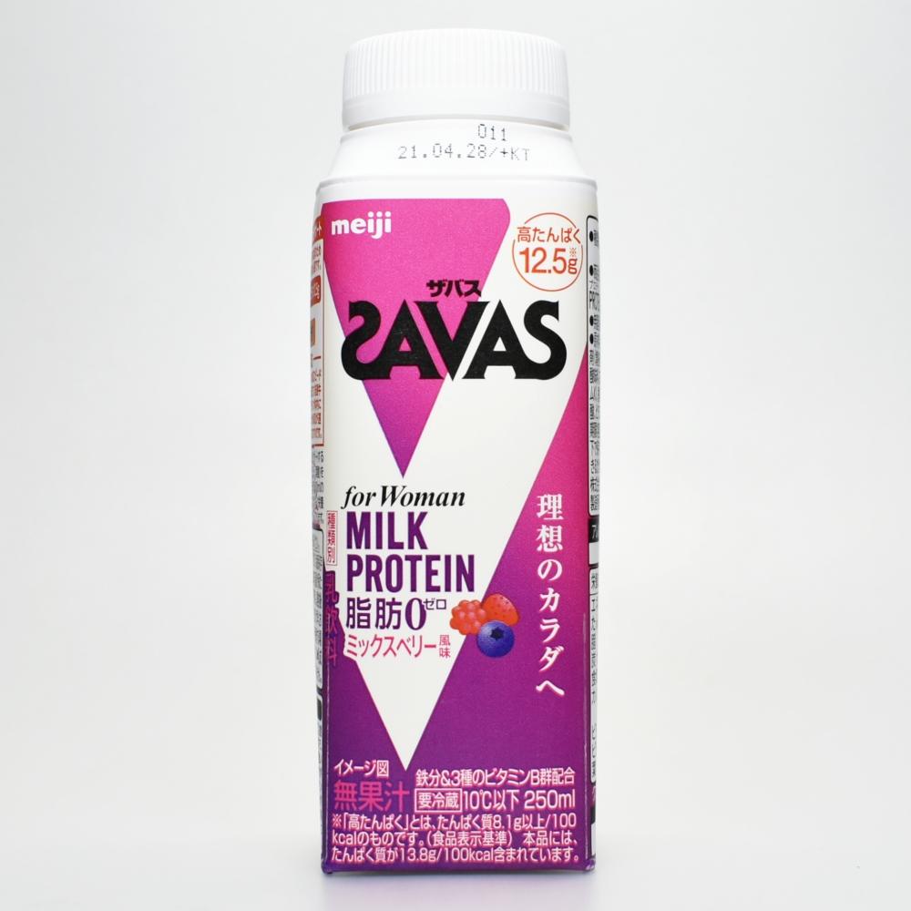 SAVAS for Woman MILK PROTEIN 脂肪0 ミックスベリー風味