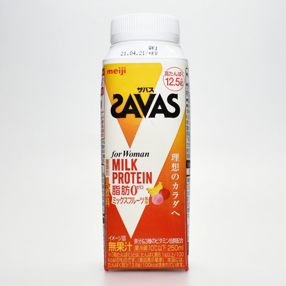 SAVAS for Woman MILK PROTEIN 脂肪0 ミックスフルーツ風味