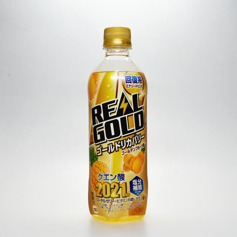 Japanese ENERGY DRINK,REALGOLD Gold Recovery