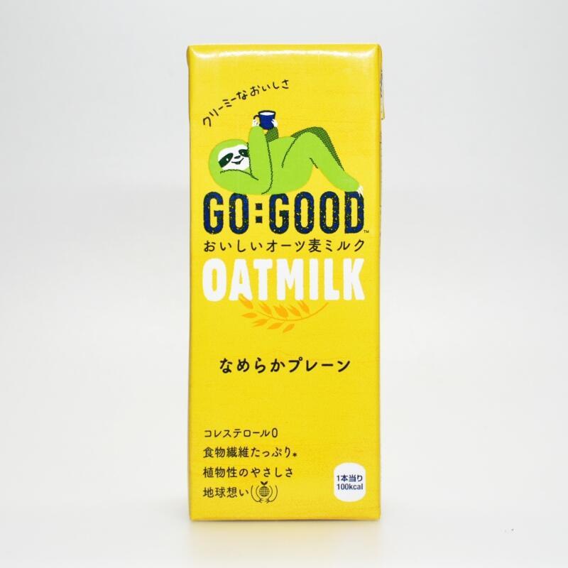 GO:GOOD おいしいオーツ麦ミルクなめらかプレーン