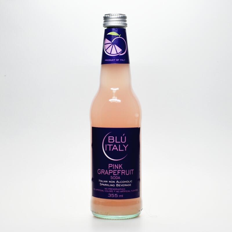 ブルーイタリー ピンクグレープフルーツソーダ