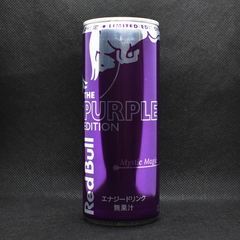 Japanese ENERGY DRINK,RedBull THE PURPLE EDITION