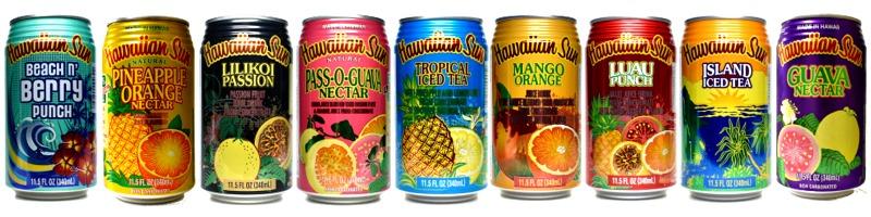 ハワイアンサン全種類
