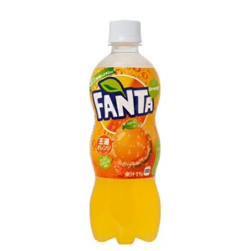 Japanese FANTA Orange