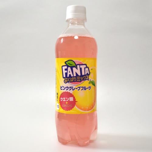 Japanese FANTA Pink Grapefruit