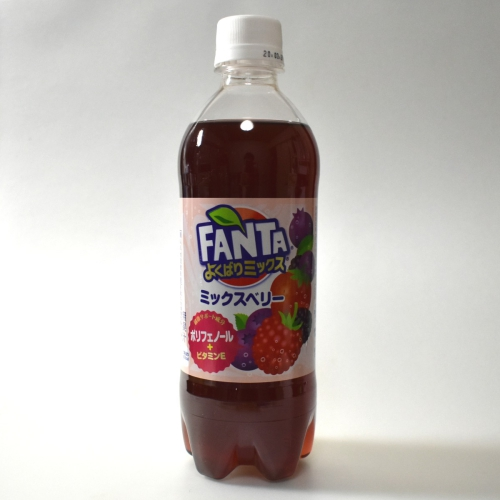 Japanese FANTA Mix Berry