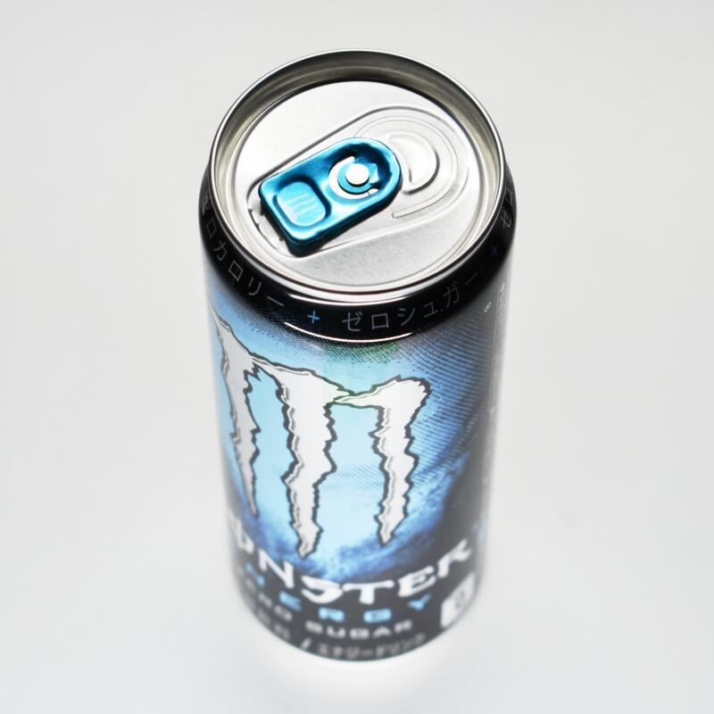 モンスターエナジー ゼロシュガー,缶上部