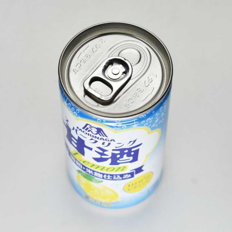スパークリング甘酒レモン