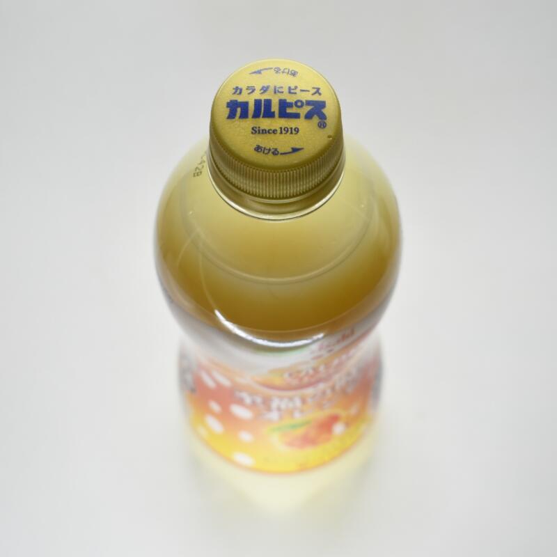 カルピスソーダ 至福の時間オレンジ,ペットボトルキャップ