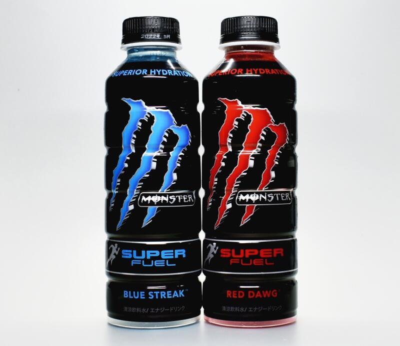 モンスター スーパーフュエル ブルーストリーク,MONSTER SUPER FUEL BLUE STREAK,モンスター スーパーフュエル レッドドッグ,MONSTER SUPER FUEL RED DAWG