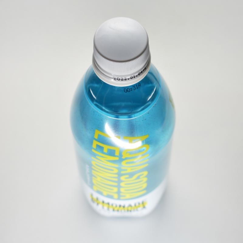 アクアレモネードソーダ,ペットボトルキャップ