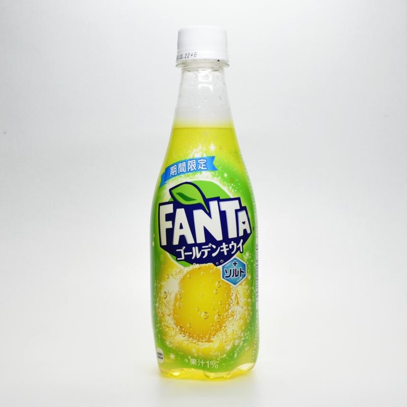 ファンタ ゴールデンキウイ+ソルト,FANTA golden kiwi + salt