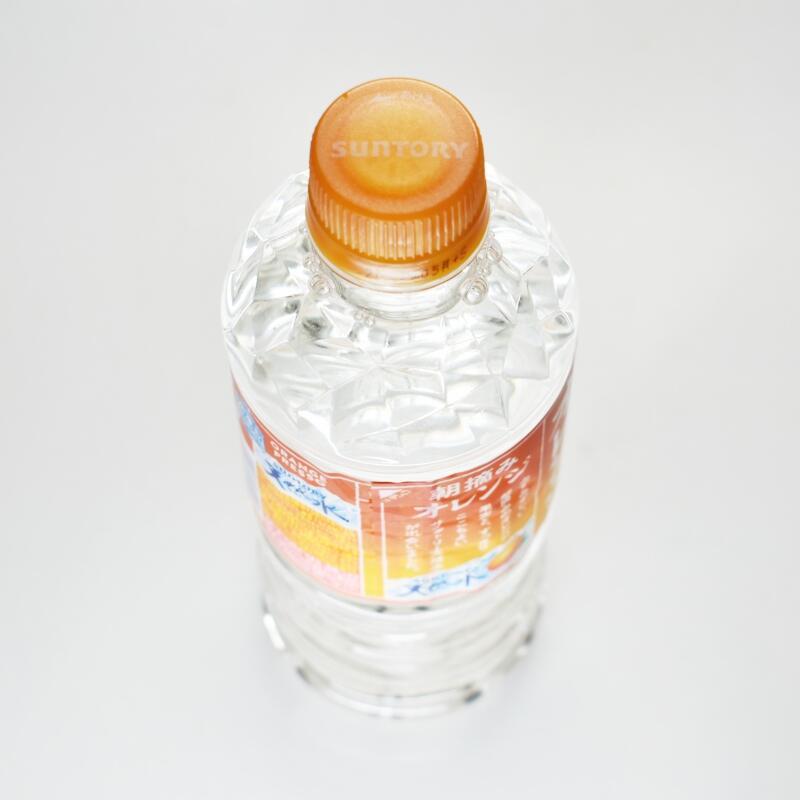 朝摘みオレンジ&サントリー天然水 ORANGE PRESSO,ペットボトルキャップ
