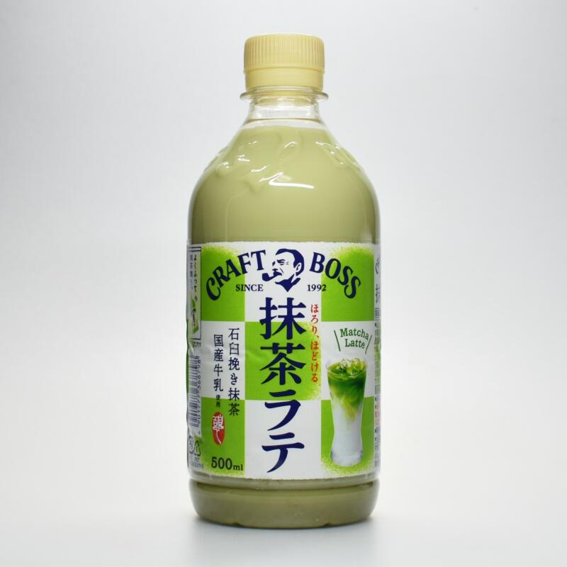 サントリー クラフトボス 抹茶ラテ,CRAFT BOSS Matcha Latte