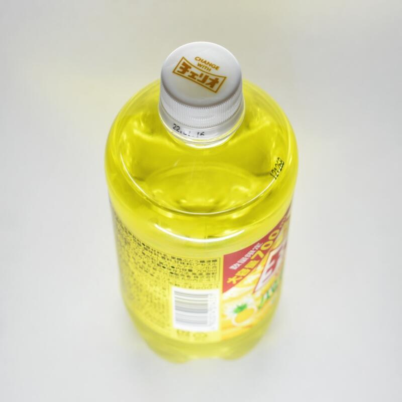 チェリオ メガ700パイナップル,ペットボトル