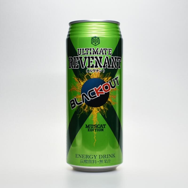Japanese ENERGY DRINK,BLACKOUT ULTIMATE REVENANT