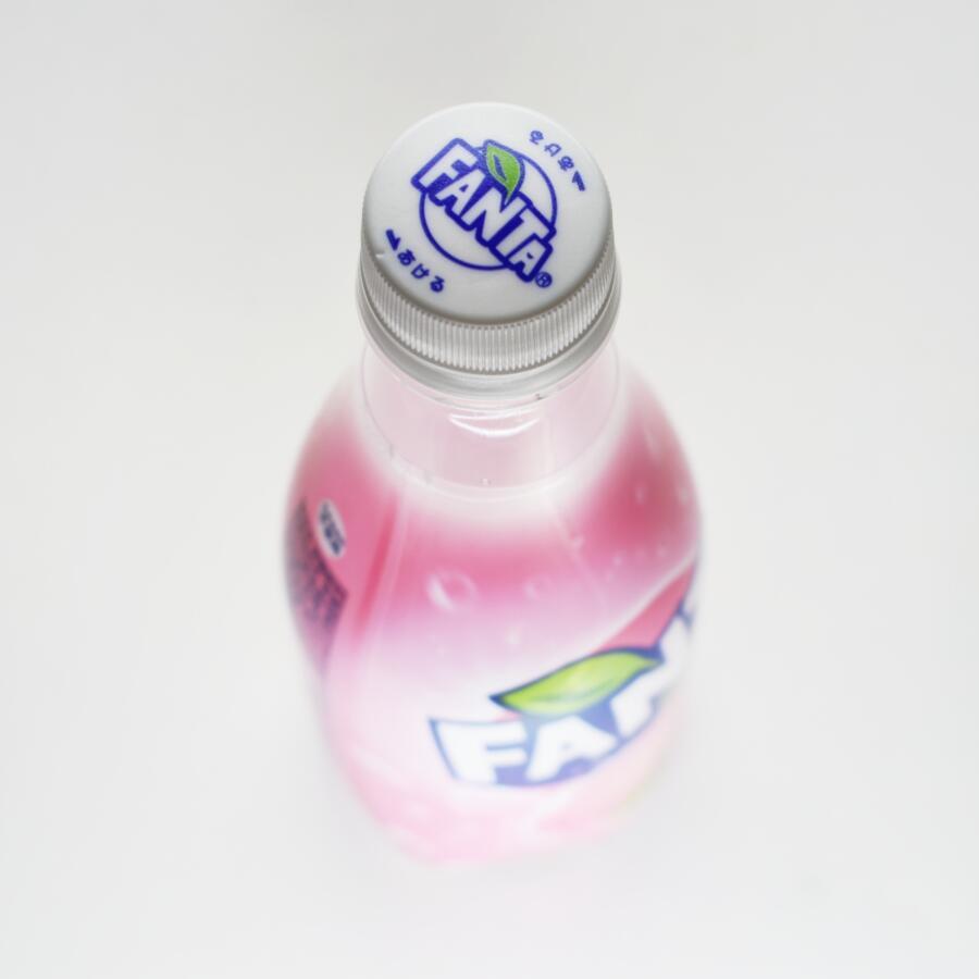 ファンタ白桃ペットボトルキャップ