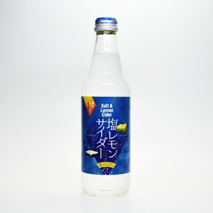 川崎飲料 塩レモンサイダー,Salt & Lemon Cider