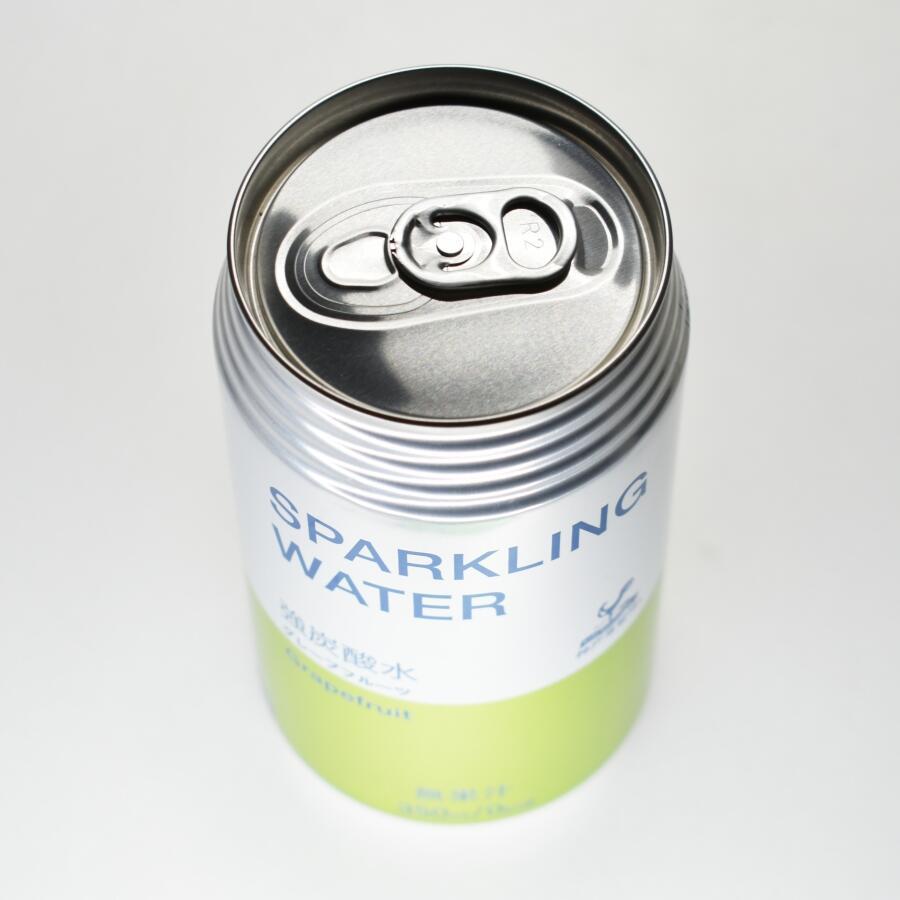 神戸居留地スパークリングウォーターグレープフルーツ,缶上部