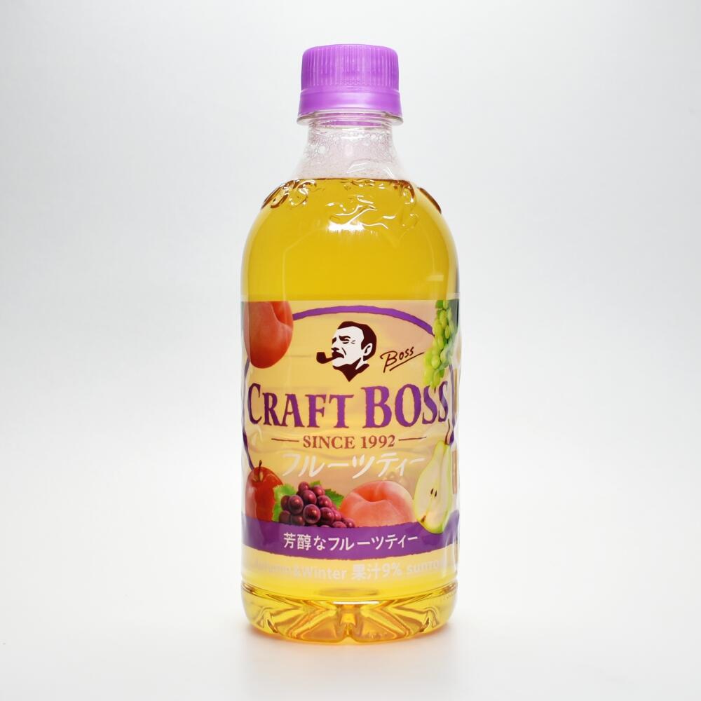 クラフトボスフルーツティー秋冬ブレンド,CRAFT BOSS fruit tea Autumn and Winter Blend