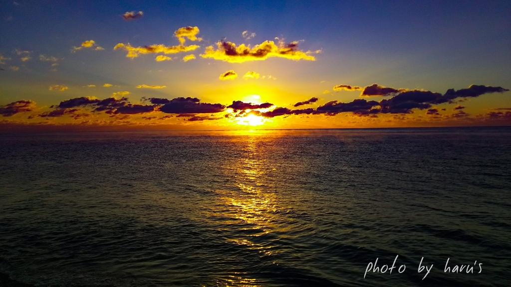 新宮、大浜海岸、夜明け、七里御浜