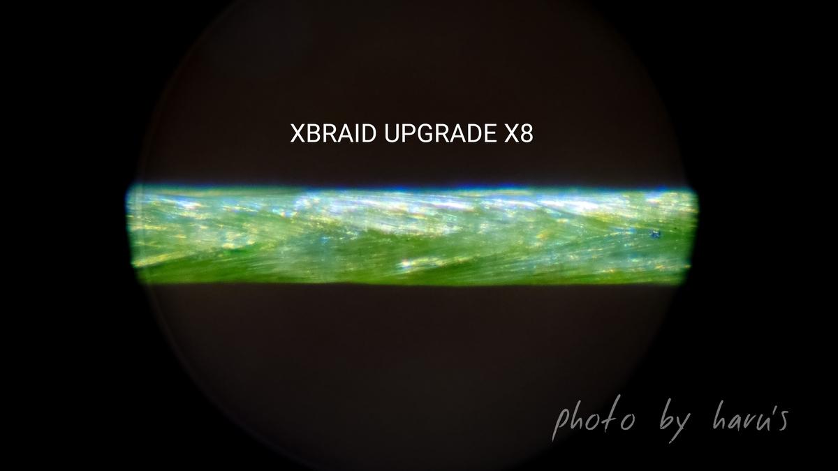 エックスブレイドアップグレードX8 拡大