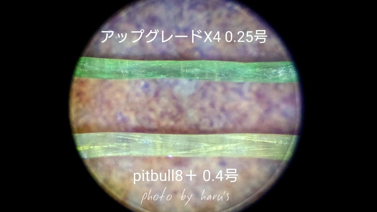 ピットブル8プラスとアップグレードX4