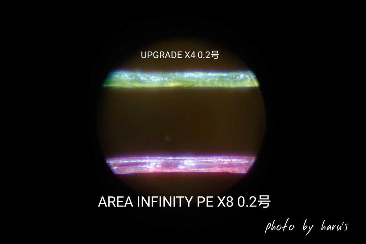 エリアインフイニティPE X8 インプレ レビュー