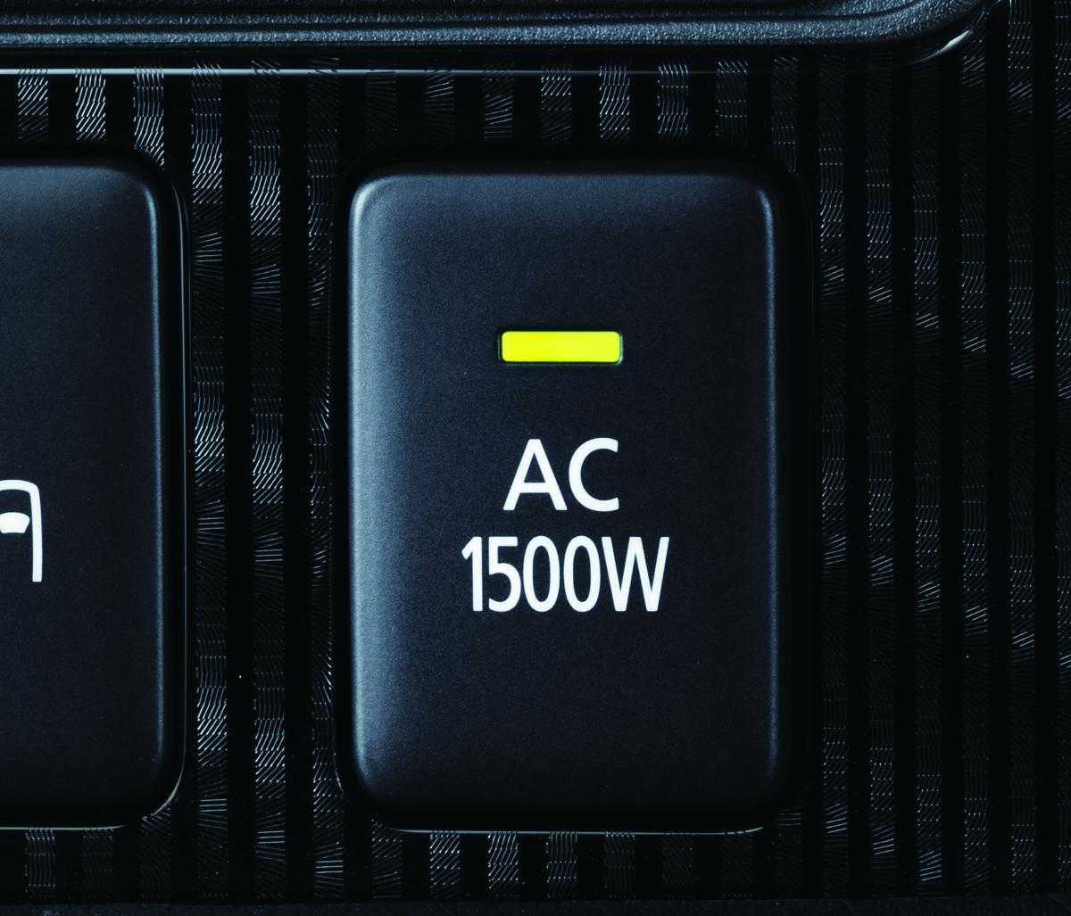 要注意!停電に強いのは100V/1500Wコンセント装着モデル