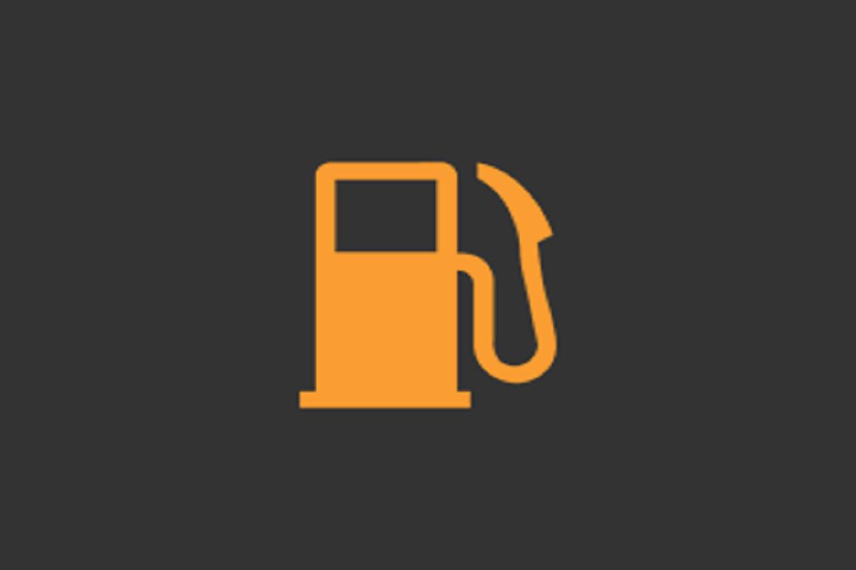 燃料残量警告灯(ガソリンランプ)