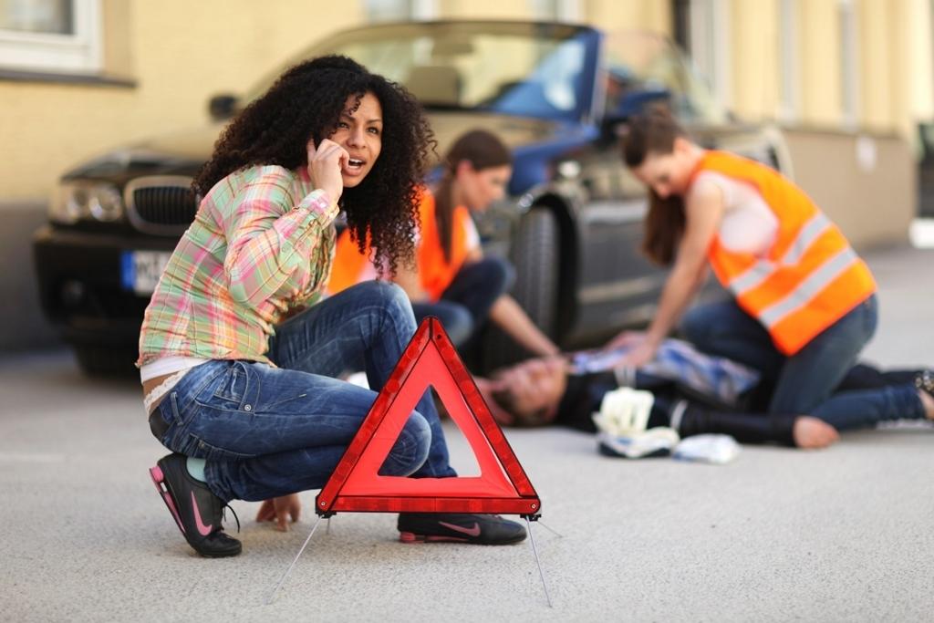 交通事故発生直後!最初にすべきこと