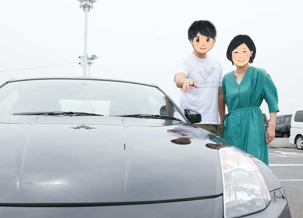 ふらっと富士山!? 思いがけないスポーツカーの到来で、生活がガラリ