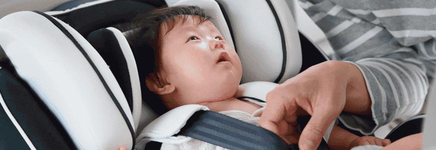 新生児用ベッド型チャイルドシート