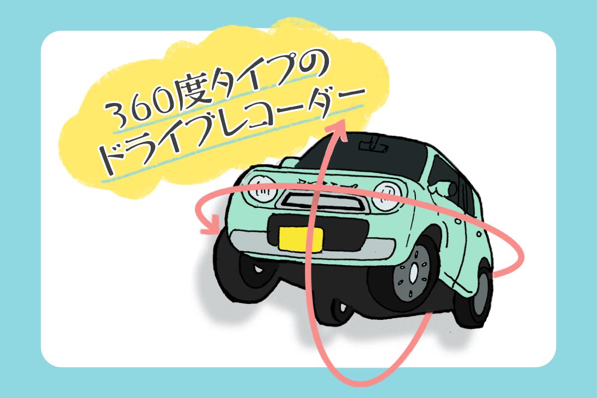 おすすめ360度ドライブレコーダー