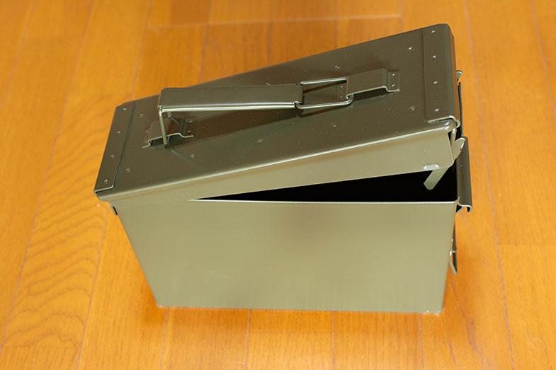 ドローンバッテリーの保管に最適なアンモボックス