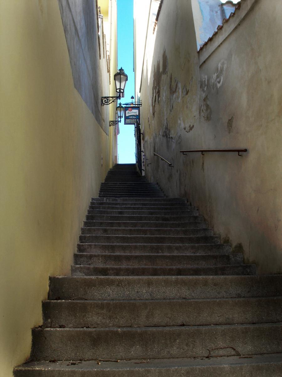 プラハの裏道