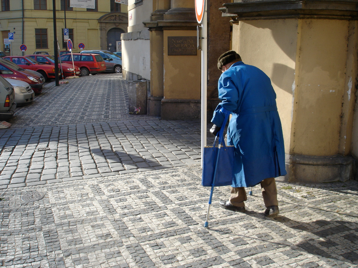プラハのお爺さん