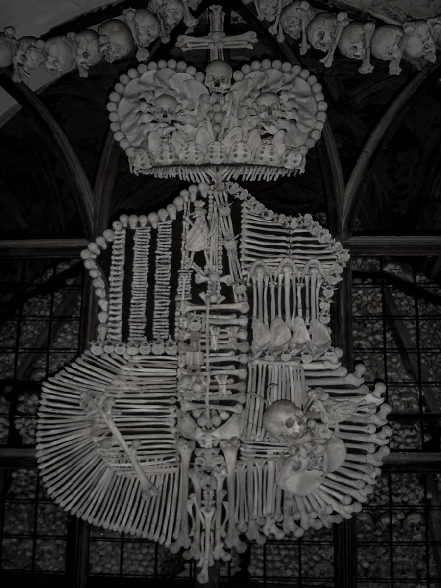 コストニツェ(セドレツ納骨堂)の人骨