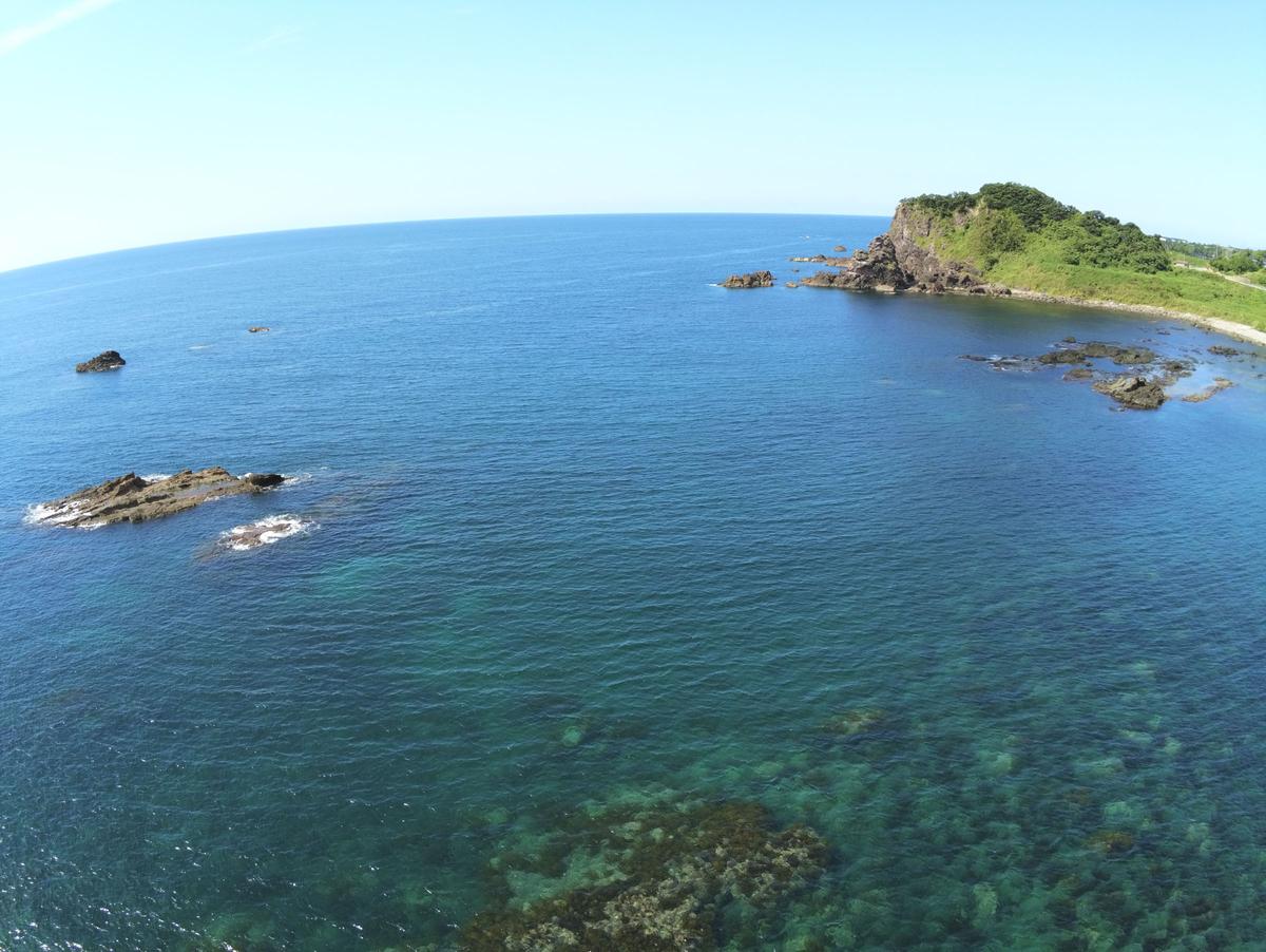 ANAFIの空撮写真