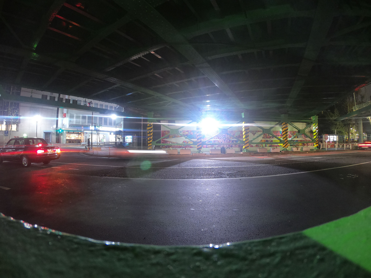 GoPro HERO7 Black夜間撮影