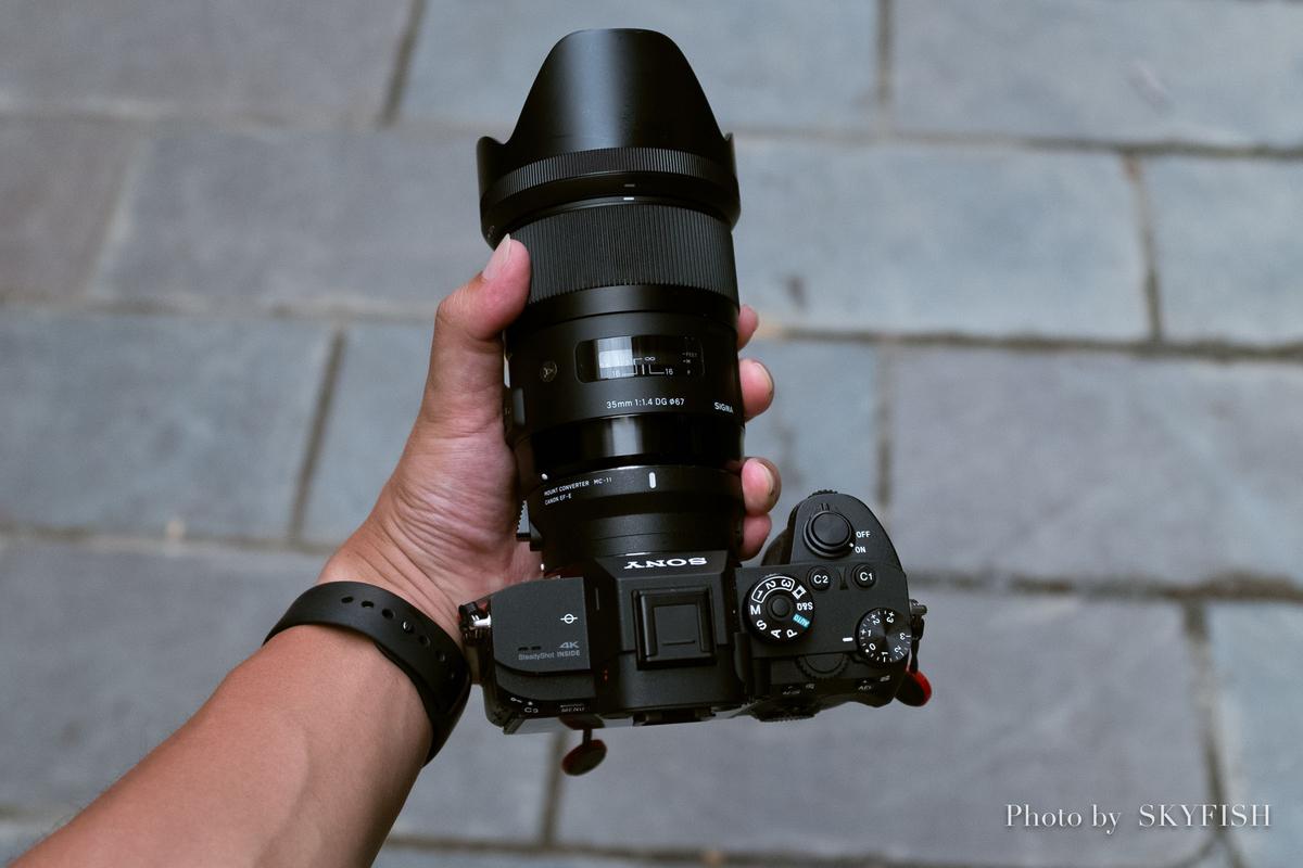 SONY α7RIII + SIGMA 35mm F1.4 DG HSM