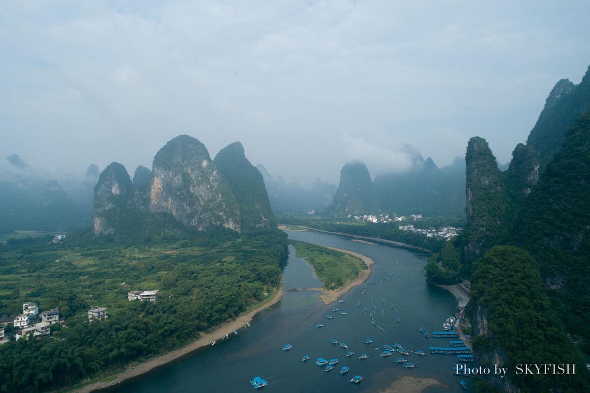 桂林の空撮