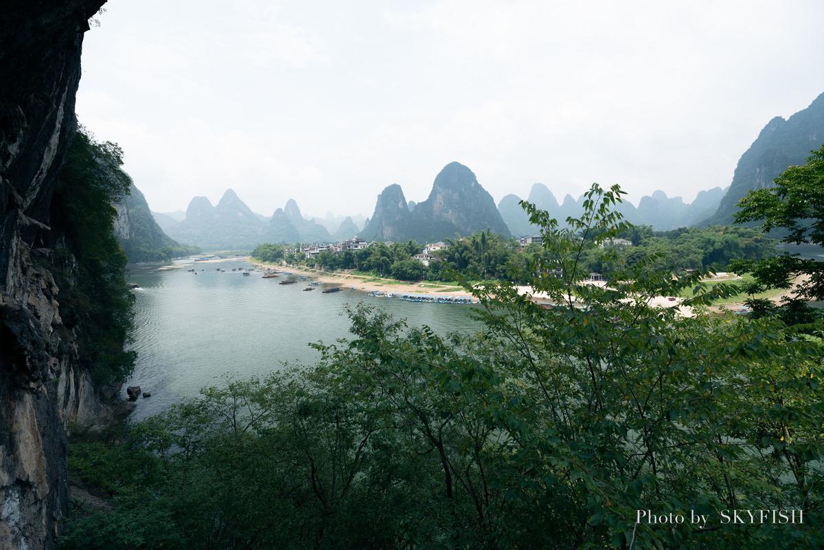 中国、興坪の老寨山