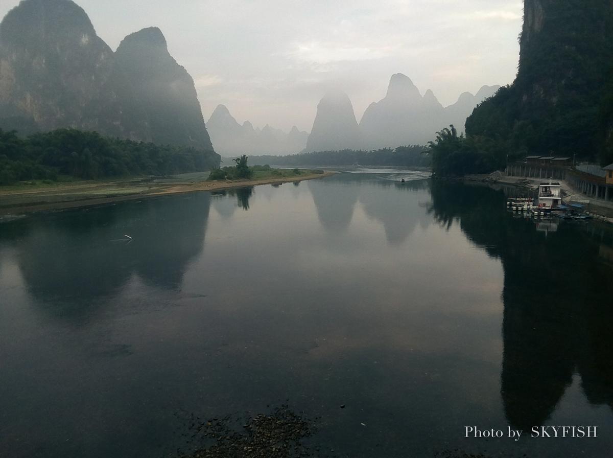 Telloで撮影した桂林の風景