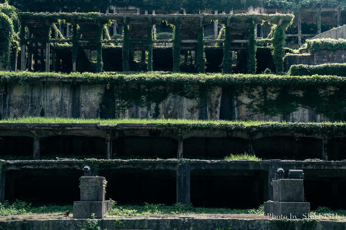 北沢浮遊選鉱場跡地