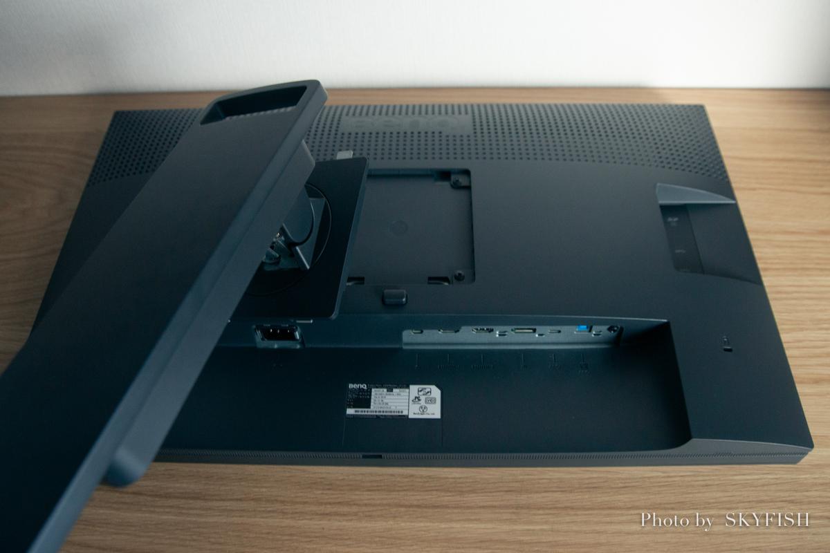 iMacのサブディスプレイBenQ24インチモニター