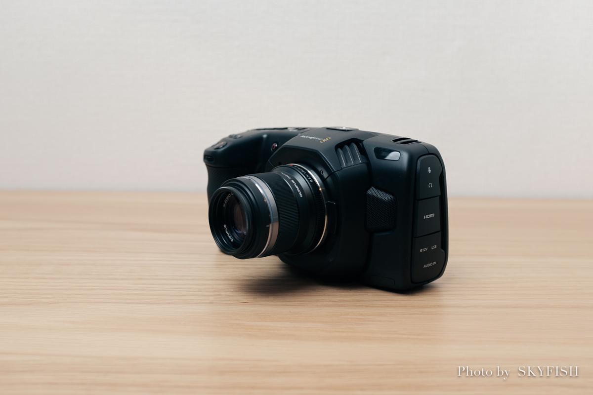 Blackmagic Pocket Cinema Camera 4K シネマカメラ BMPCC4K