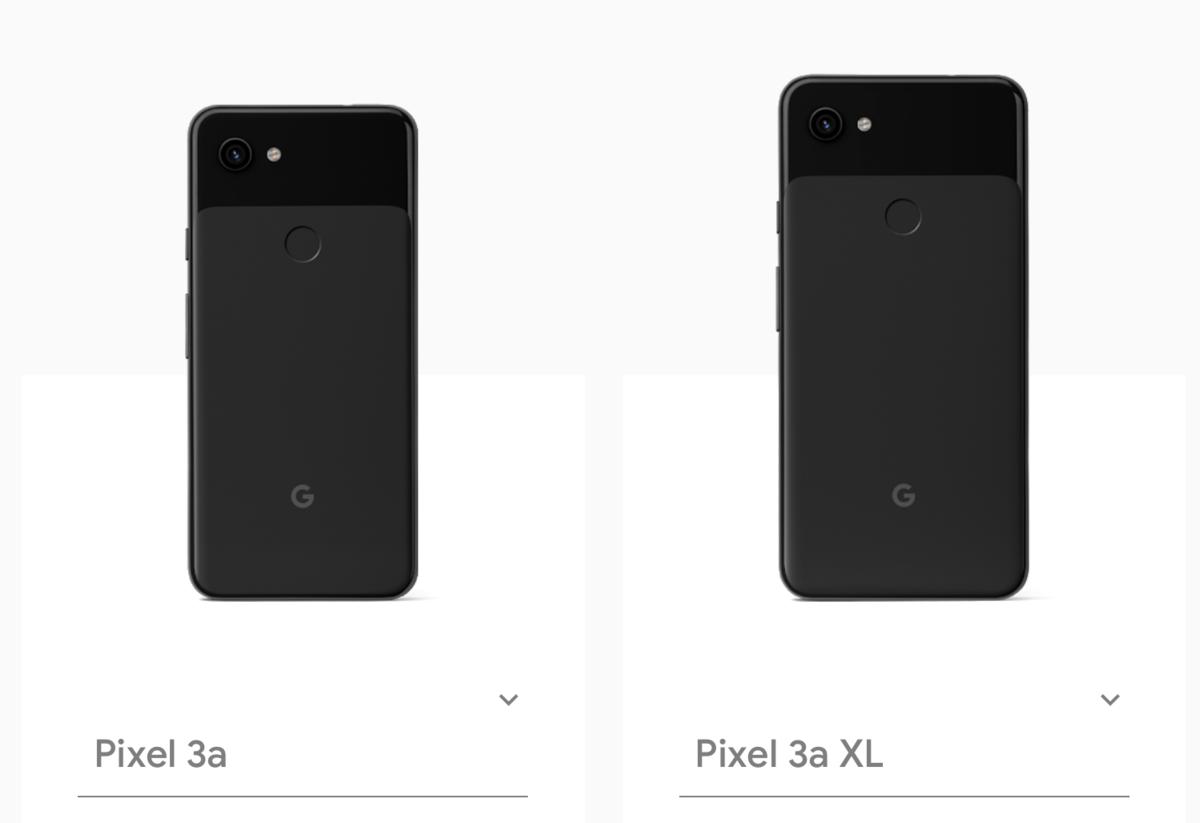 Pixel 3a、Pixel 3a XL